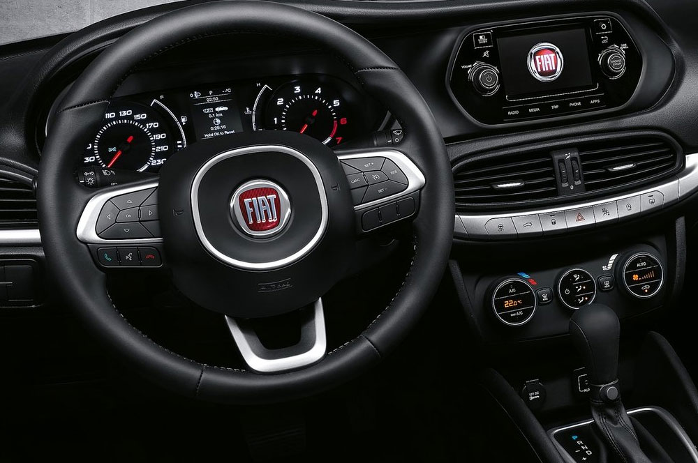 adorable-design-of-the-black-and-silver-accent-steering-wheels-added-with-black-dash-ideas-as-the-fiat-124-spider-2016-interior