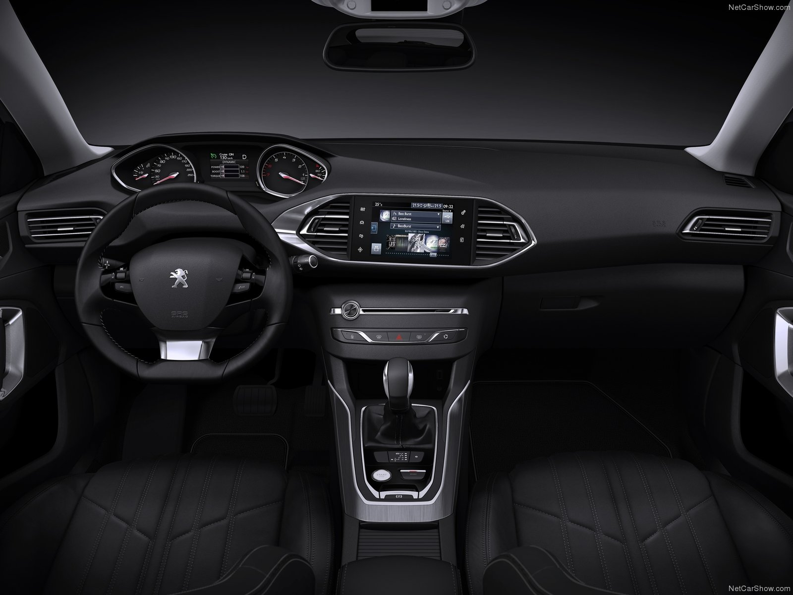 adorable-design-of-the-black-dash-ideas-with-black-steering-wheels-as-the-peugeot-308-2014-interior-ideas