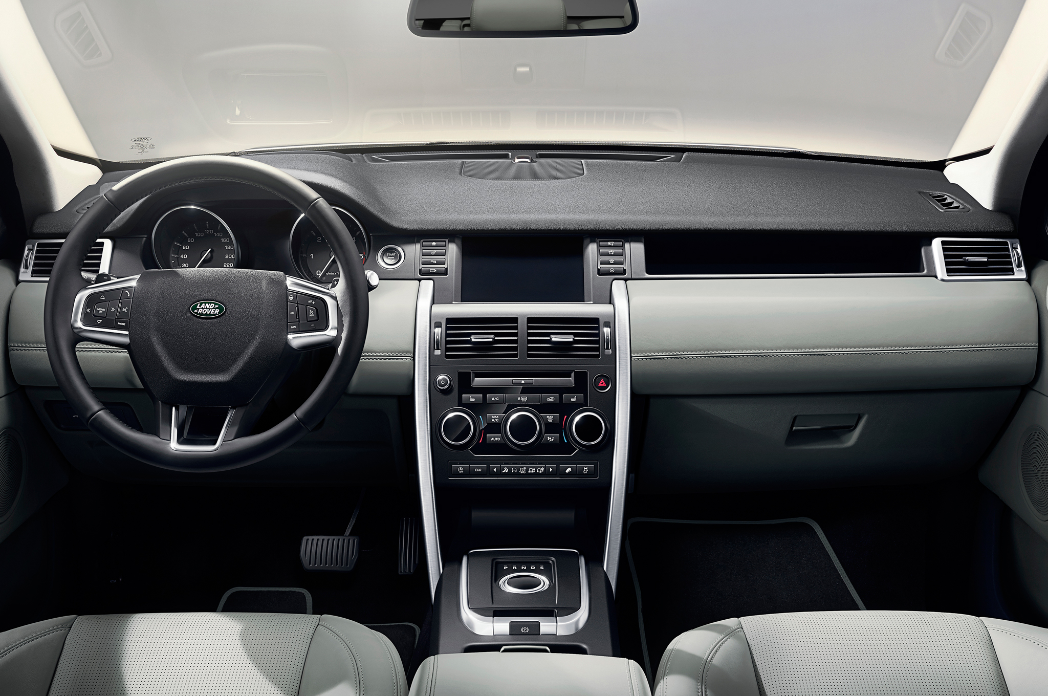 amazing-design-of-the-black-and-grey-dash-ideas-with-grey-seats-as-the-land-rover-discovery-sport-2015-interior