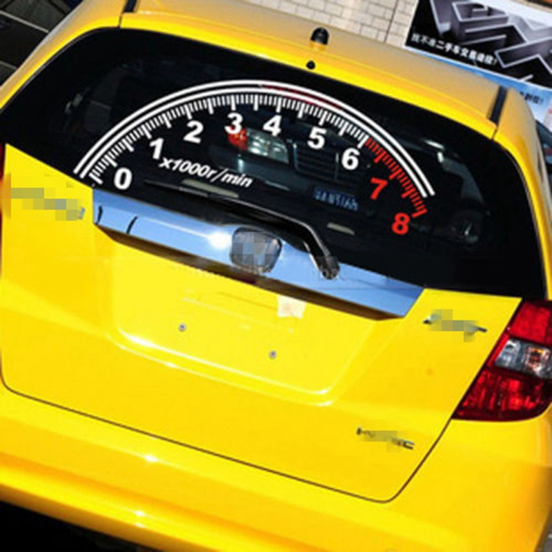 amazing-design-of-the-car-decoration-stickers-with-speedometer-ideas-put-at-the-back-cars-areas