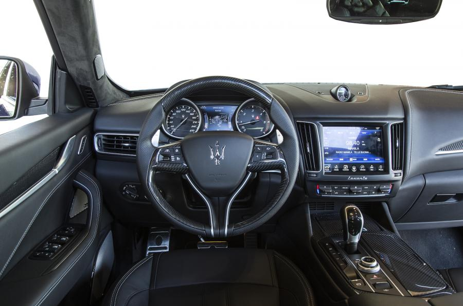 amusing-design-of-the-black-dash-maserati-levante-2016-interior-ideas-with-black-stirs-and-modern-lcd