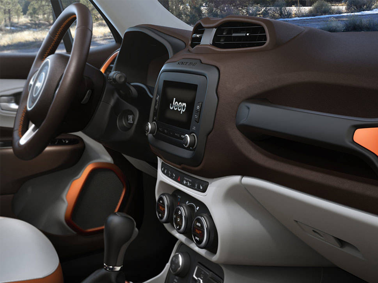 amusing-design-of-the-blak-and-orange-accents-ideas-of-the-jeep-renegade-2015-interior-ideas