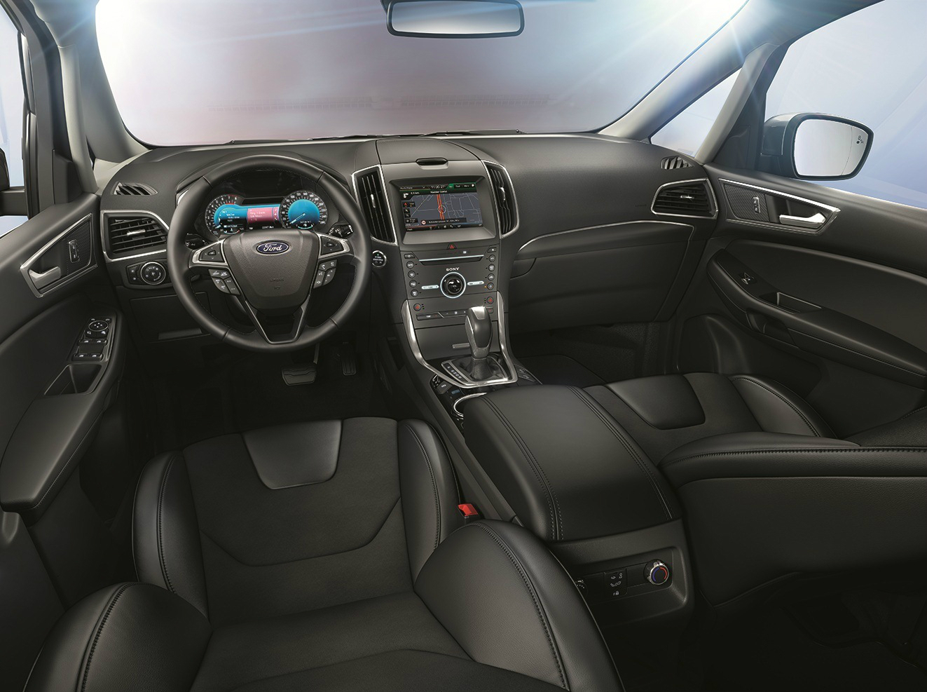 amusing-design-of-the-grey-and-black-seats-ideas-with-balck-steering-wheels-ideas-as-the-ford-s-max-2015-interior