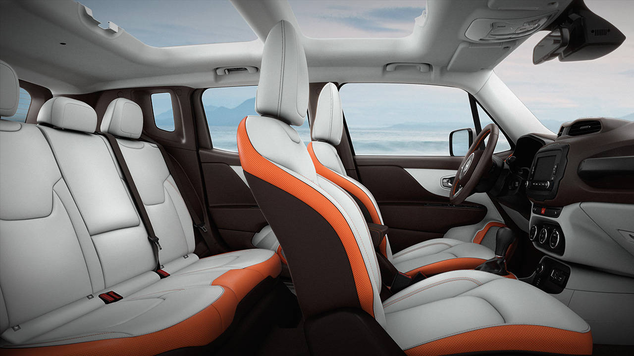astoishing-design-of-the-white-seats-added-with-orange-accents-as-the-jeep-renegade-2015-interior-ideas