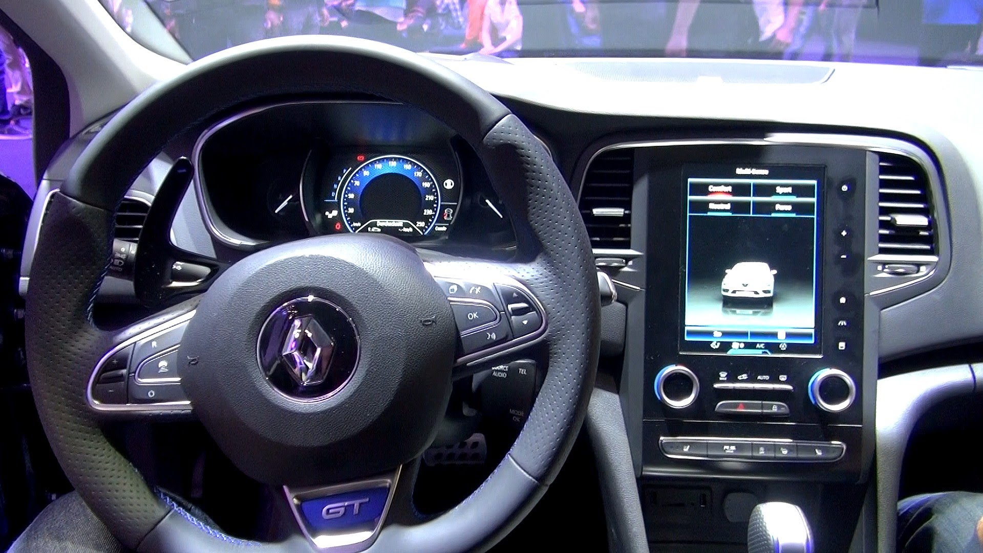 astonishing-design-of-the-black-and-purple-steering-wheels-added-with-black-dash-as-the-renault-megane-hatch-2016-interior