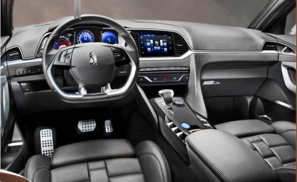2015 Citroen DS 6WR Interior Design