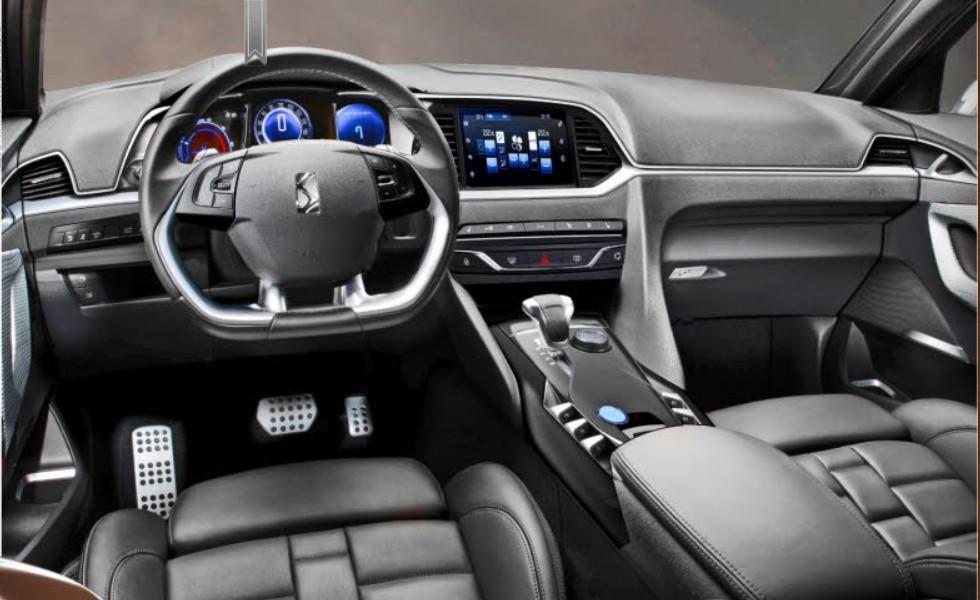 2015 Citroen DS 6WR Interior Design