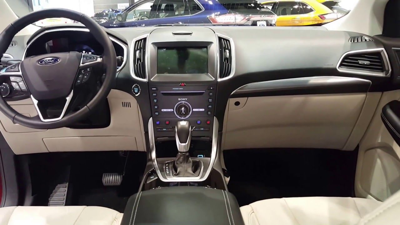 astonishing-design-of-the-white-dash-and-white-seats-with-silver-accent-dash-as-the-ford-edge-2016-interior