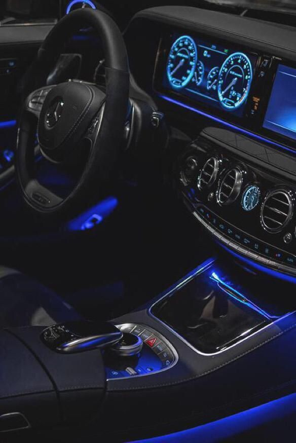 astounding-design-of-the-black-leather-seats-with-the-blue-accents-lamp-as-the-car-interior-accessories-for-swift-ideas