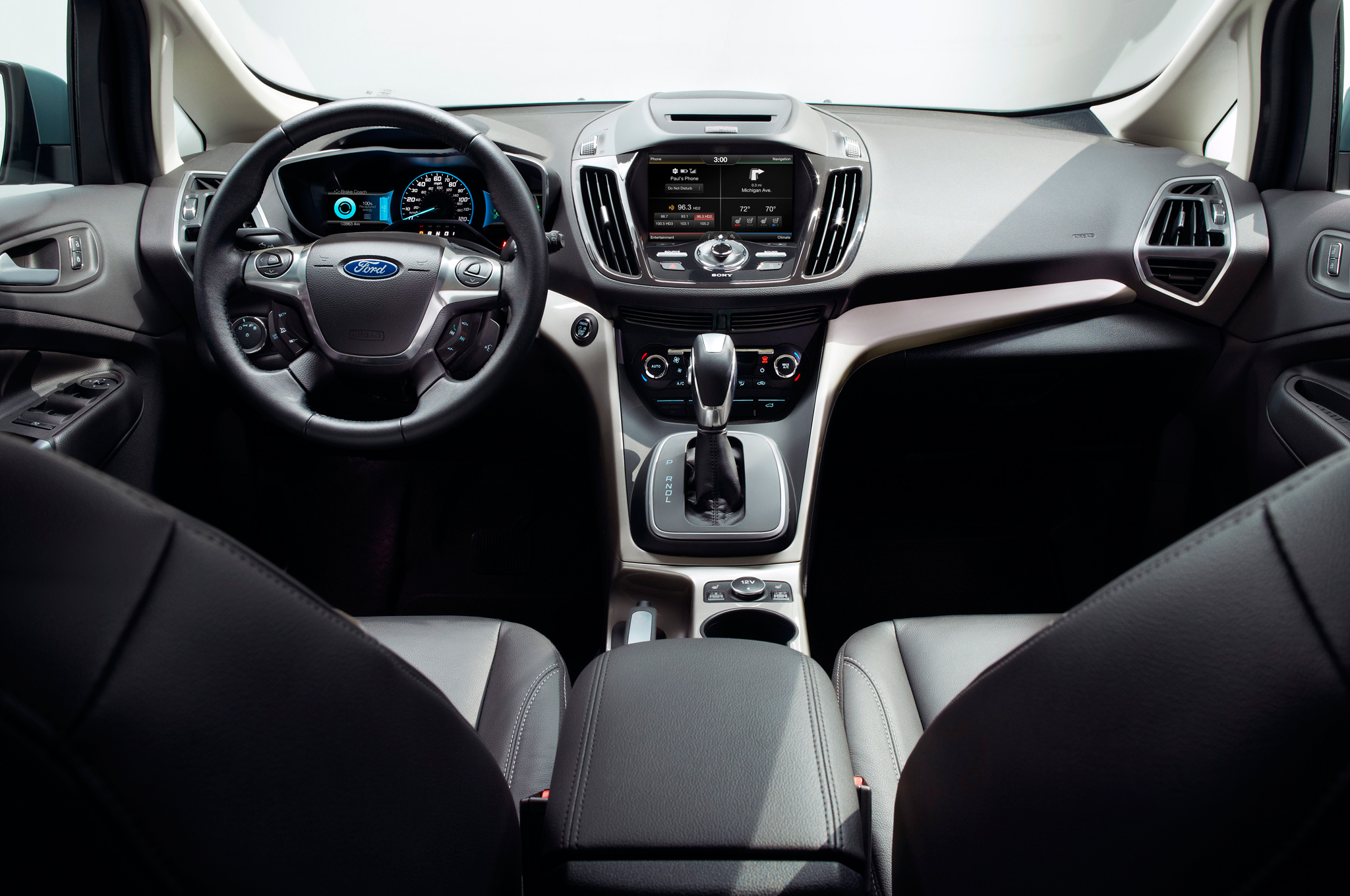 astounding-design-of-the-black-seats-and-silver-dash-accent-ideas-as-the-ford-c-max-2015-interior