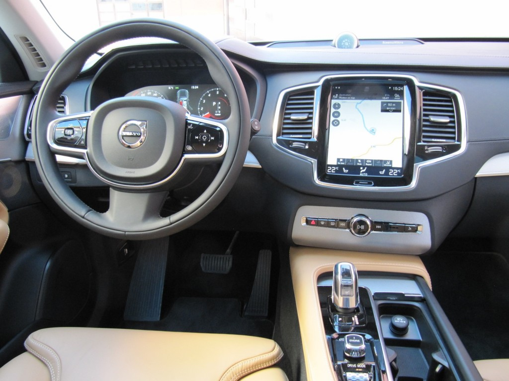 astounding-design-of-the-brown-leather-seats-ideas-with-black-dash-with-black-steering-wheels-ideas-as-the-volvo-v90-2016-interior
