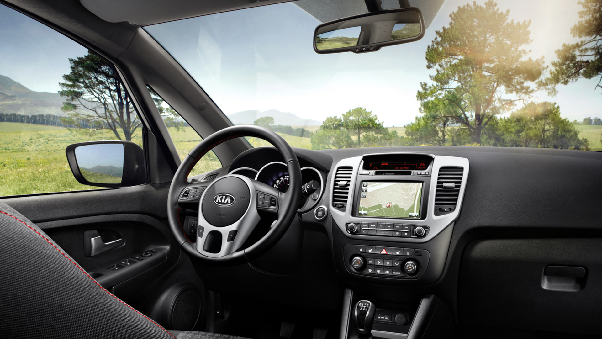 astounding-design-of-the-silver-radio-on-the-black-dash-ideas-with-black-and-silver-steering-as-the-kia-venga-2015-interior-ideas