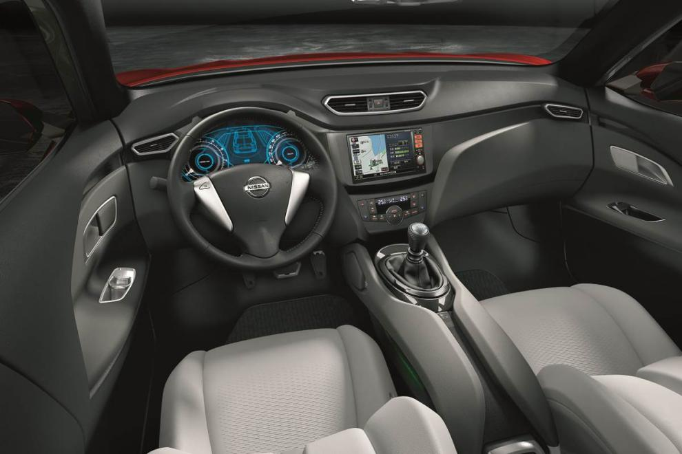 Nissan qashqai 2014 interior technology bundled in an for Interior nissan qashqai