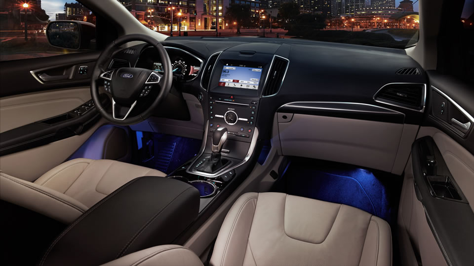 astounding-design-of-the-white-seats-with-blue-lamp-at-the-bottom-as-the-ford-edge-2016-interior