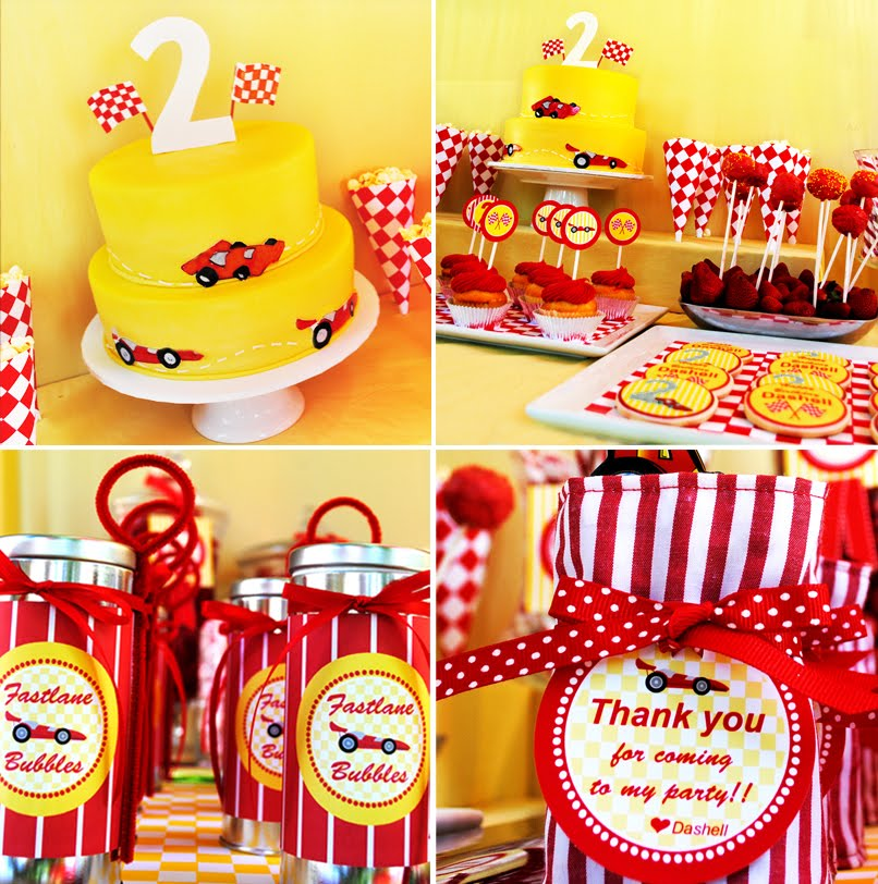 astounding-design-of-the-yellow-cake-with-cars-added-with-car-decoration-for-birthday-ideas
