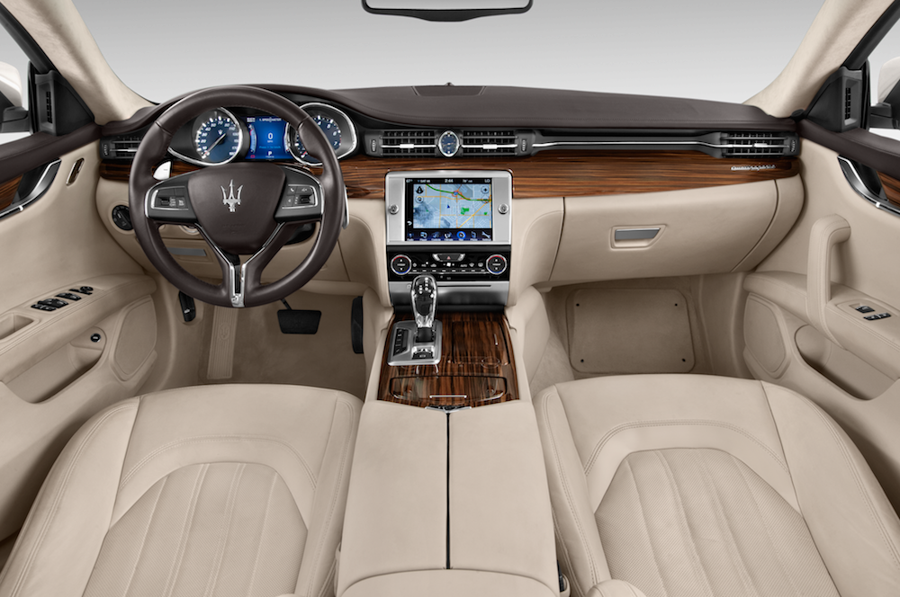 awesome-design-of-the-white-leather-maserati-levante-2016-interior-ideas-with-wooden-dash-ideas