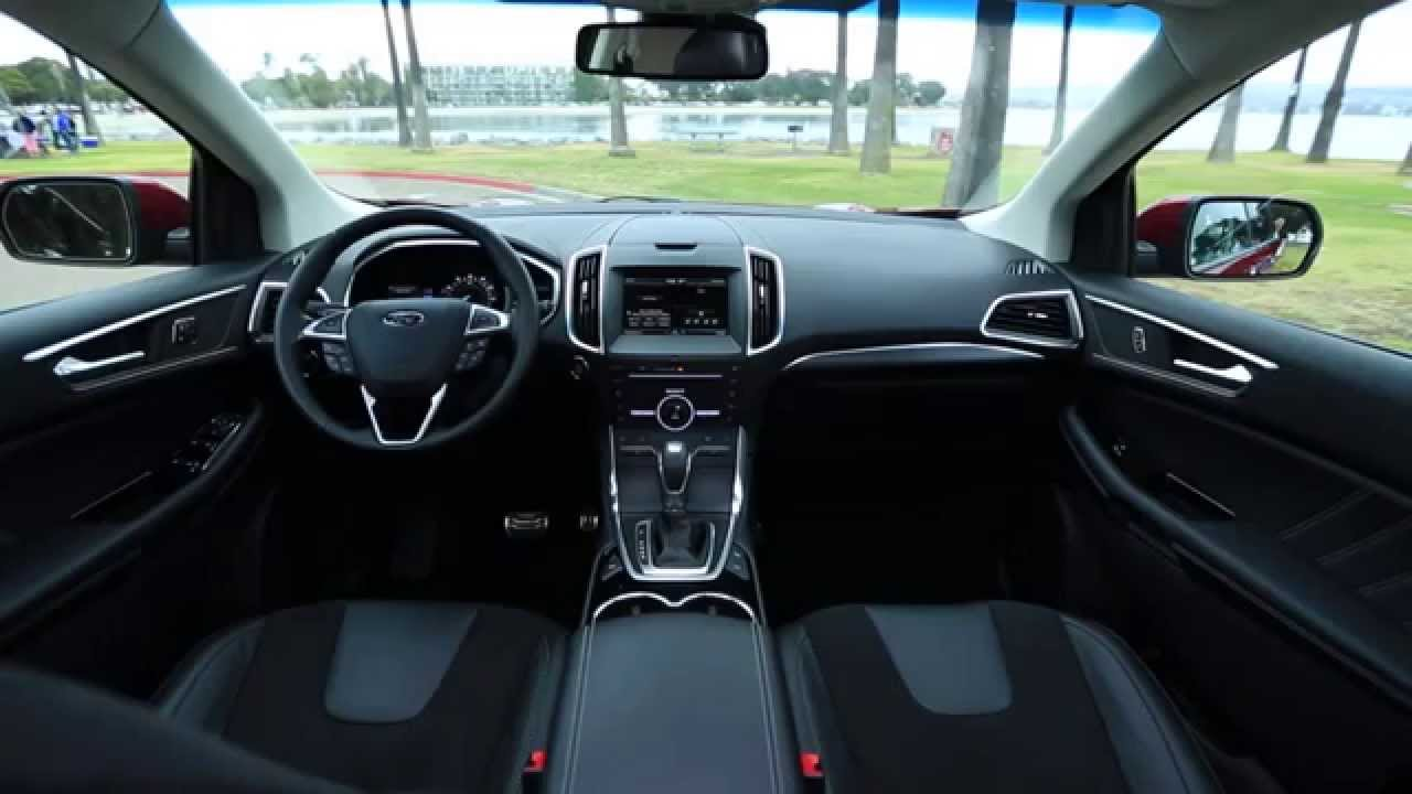 great ford edge 2016 interior that focuses on space my car interior my car interior. Black Bedroom Furniture Sets. Home Design Ideas