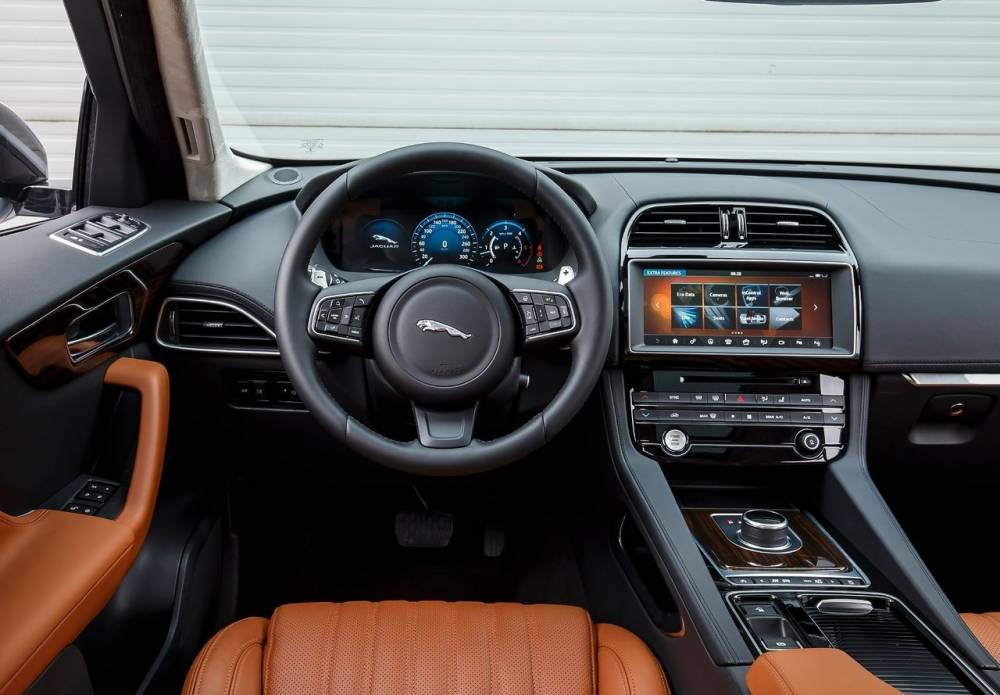 fantastic-design-of-the-brown-leather-seats-ideas-with-black-dash-and-black-steering-wheel-ideas-as-the-jaguar-f-pace-2016-interior