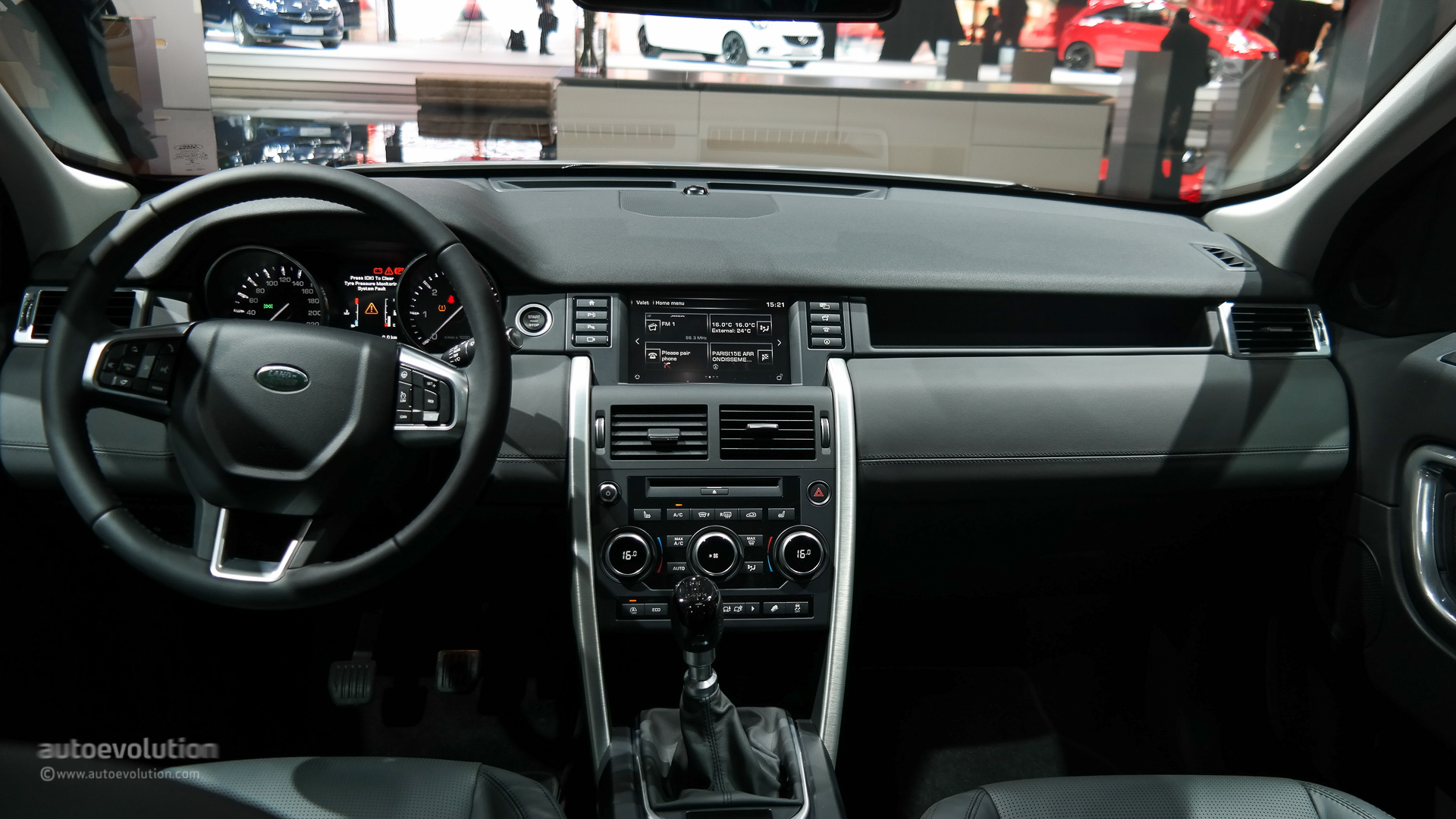 marvelous-design-of-the-black-and-silver-accents-land-rover-discovery-sport-2015-interior-ideas-with-black-steering-wheels-ideas