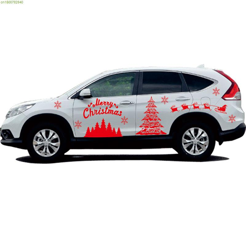 stunning-design-of-the-christmas-design-ideas-of-the-car-decoration-stickers-for-the-cars