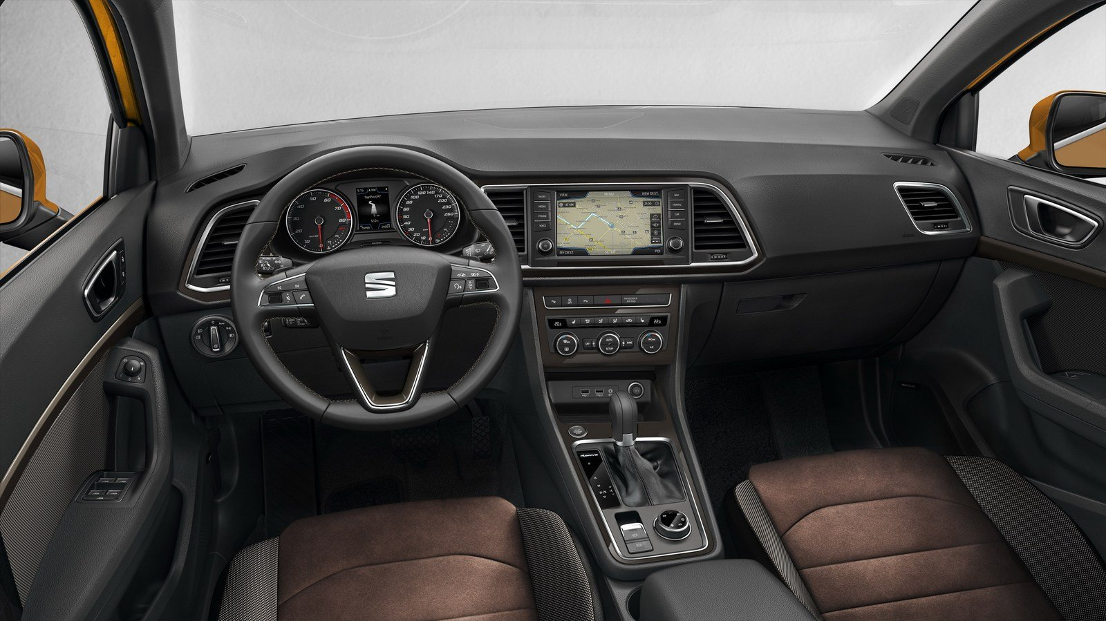 superb-design-of-the-brown-seats-ideas-with-black-dash-added-with-silver-steering-wheels-ideas-as-the-seat-ateca-2016-interior
