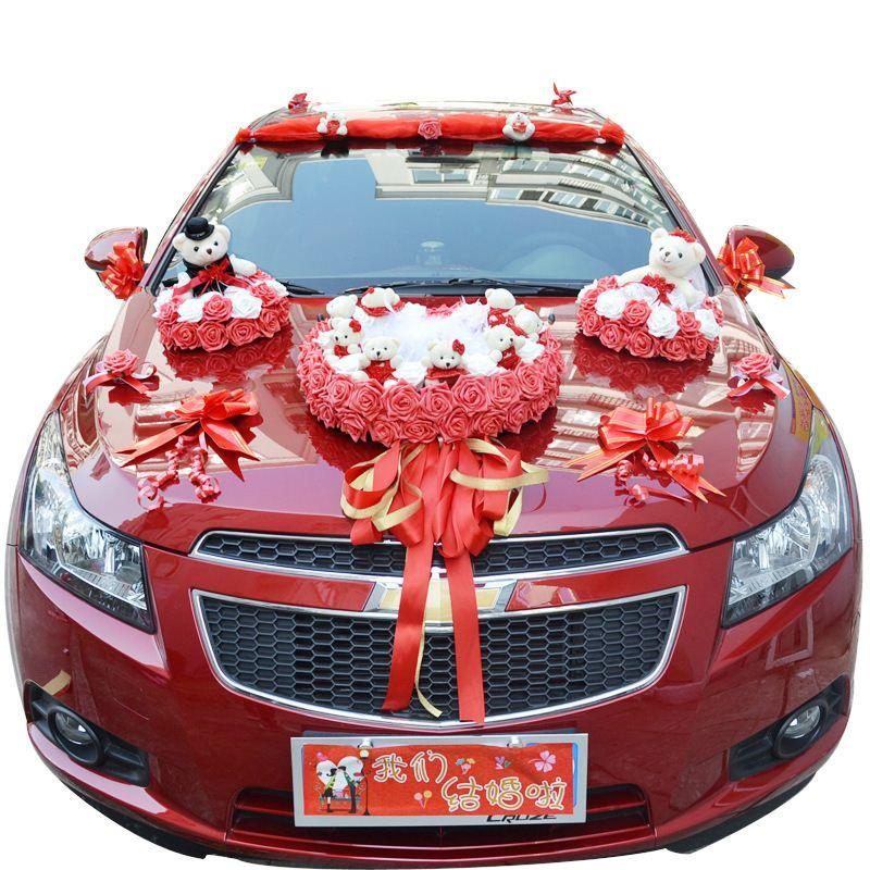 awesome-design-of-the-cartoon-creative-wedding-car-decoration-as-the-car-decoration-for-wedding